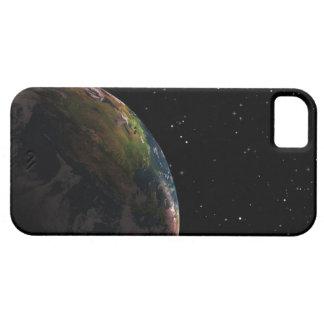 Jord skuggar in i rymden iPhone 5 fodral