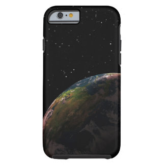 Jord skuggar in i rymden tough iPhone 6 case
