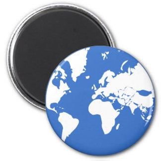 Jord/standart, rundamagnet för 5,7 cm magnet