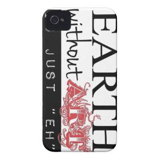 Jord utan konst är precis Eh iphone case iPhone 4 Cover