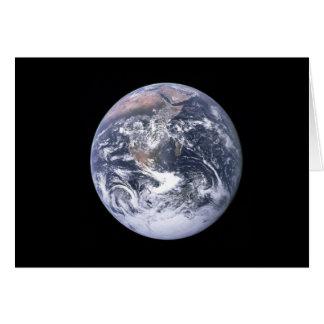 Jorda en kontakt från Apollo 17, uppkomst1:1 Hälsningskort