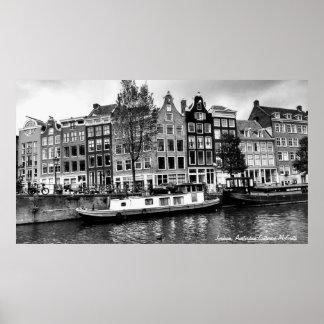 Jordaan område, Amsterdam Poster