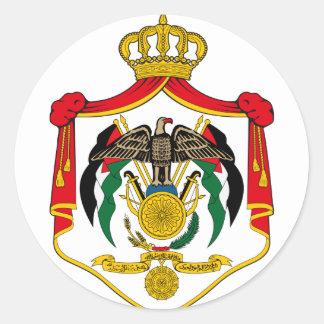 jordan emblem runt klistermärke