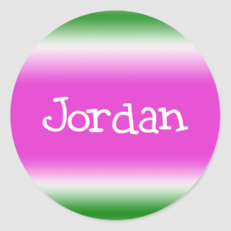 Jordanien Runt Klistermärke