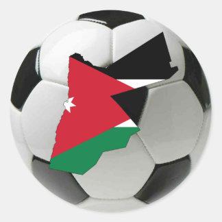 Jordanienlandslag Runt Klistermärke