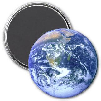 Jordblåttmarmor Magnet