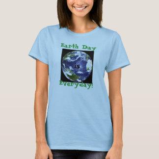 Jorddagen, är, dagligt! t-shirt