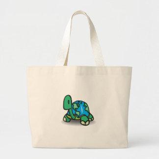 Jorddagsköldpadda Tote Bag
