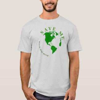 Jorden är träffande, att spara mig, den viktiga t shirts