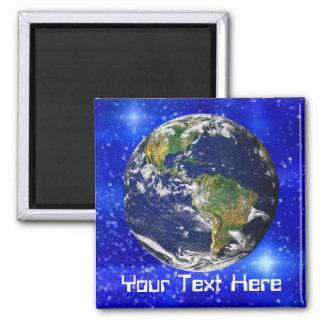 Jorden i utrymmemagnet magnet