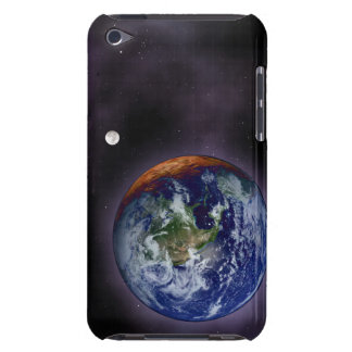 Jorden som visas på ytterkanterna iPod touch överdrag