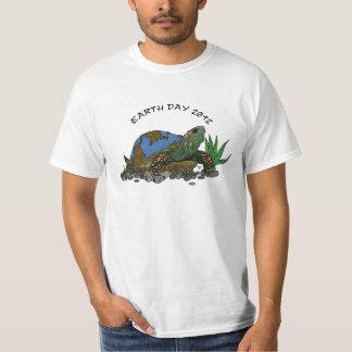 jordens dagsköldpadda t-shirt