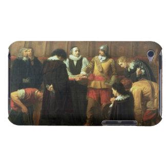 Jordfästningen av Charles mig (1600-49) på St Geor iPod Touch Case-Mate Fodral