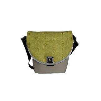 Jordgrönt - crossbody messenger bag