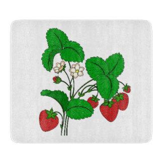 Jordgubbar för frukost