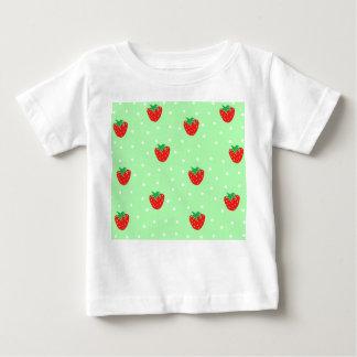 Jordgubbar och polka dotsMintgrönt Tee Shirts