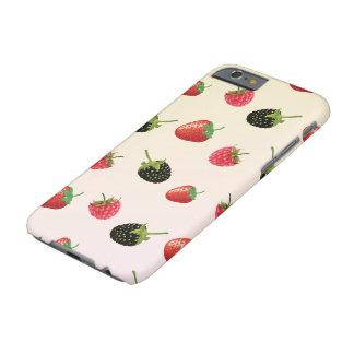 Jordgubbe björnbär, hallon: läcker frukt barely there iPhone 6 fodral