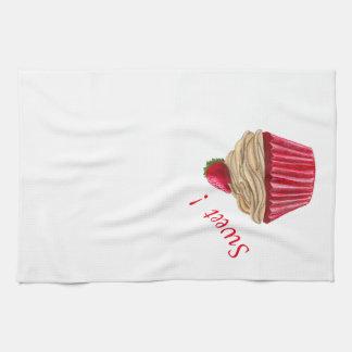 JordgubbemuffinKithcen handduk Kökshandduk