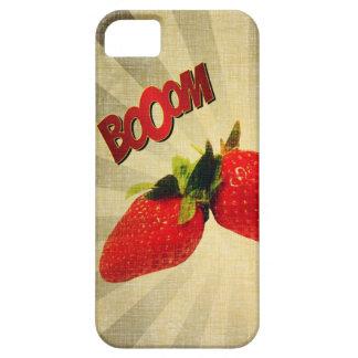 Jordgubben går BANG Popart iPhone 5 Case-Mate Fodral