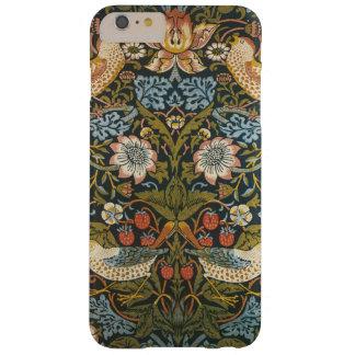 Jordgubbetjuvar av William Morris, textilar Barely There iPhone 6 Plus Fodral