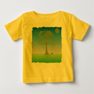 Jordlivets trädutslagsplats t-shirt