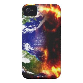 Jordnära katastrof Case-Mate iPhone 4 skal