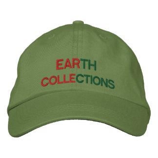 Jordsamlingar broderade hattar för alla broderad keps