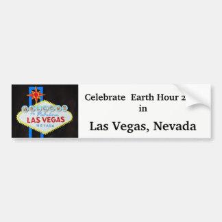 Jordtimme i Las Vegas Bildekal