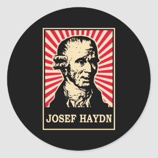 Josef Haydn Runt Klistermärke
