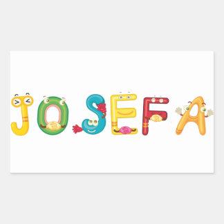 Josefa klistermärke