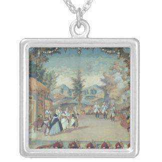 Joseph Haydn först kapacitet av hans opera Silverpläterat Halsband