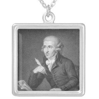 Joseph Haydn inristade vid Schiavonnetti, 1792 Silverpläterat Halsband