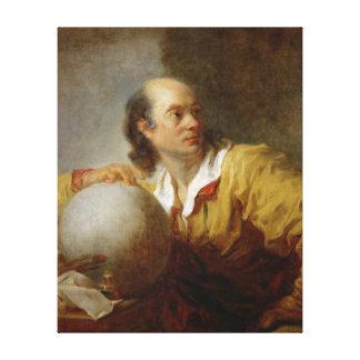 Joseph-Jerome Lefrancois Lalande Canvastryck