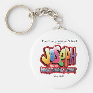 """""""Joseph"""" Keychain Rund Nyckelring"""