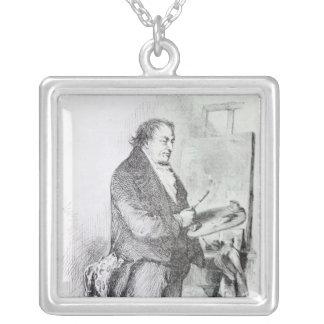 Joseph Mallord William turner Silverpläterat Halsband