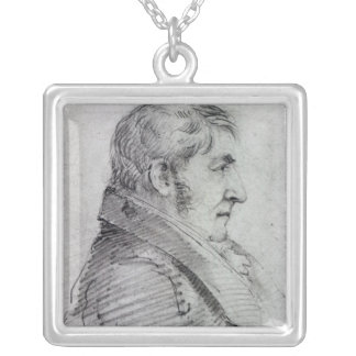 Joseph Mallord William turner Silverpläterat Halsband