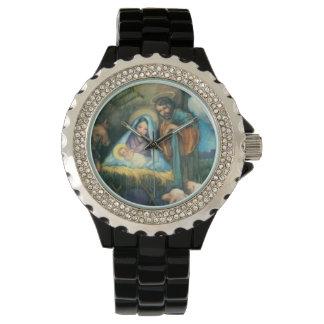 Joseph Mary Jesus Manger Armbandsur