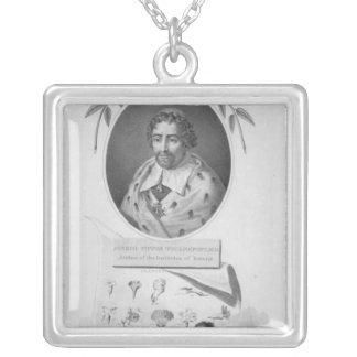 Joseph Pitton de Tournefort Silverpläterat Halsband