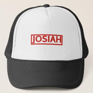Josiah frimärke truckerkeps