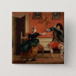 Jourdain fäktar hans Maid Standard Kanpp Fyrkantig 5.1 Cm