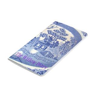 Journalen för älskare av blåttpilen China. Anteckningsbok