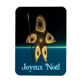 Joyeux Noel - FractalInuitjägare Magnet