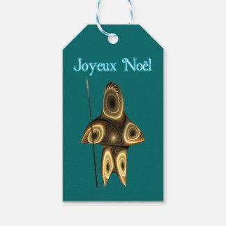 Joyeux Noel - jägare för Tuvaaq FractalInuit Presentetikett