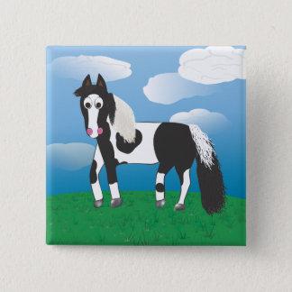 Jr. Måla hästen Standard Kanpp Fyrkantig 5.1 Cm