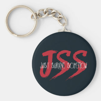 JSS överlever precis Somehow Rund Nyckelring