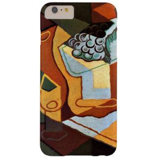 Juan Gris - flaska, vinexponeringsglas och frukt Barely There iPhone 6 Plus Skal
