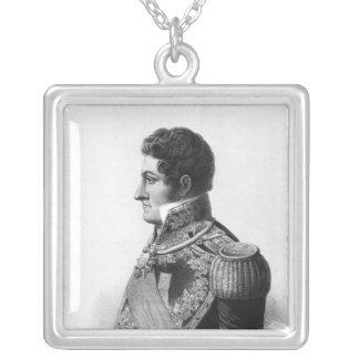 Juan Manuel de Rosas Silverpläterat Halsband