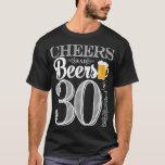 Jubel och öl till 30 år manar T-tröja T Shirts