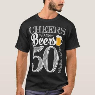Jubel och öl till 50 år manar T-tröja Tshirts