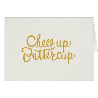 Jubel upp Buttercup räcker det märkte Hälsningskort